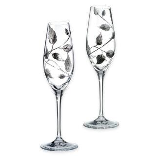 Handmade champagne glasses