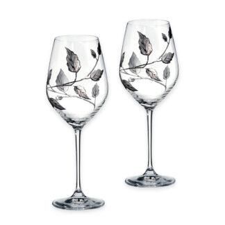 Handmade wine glasses